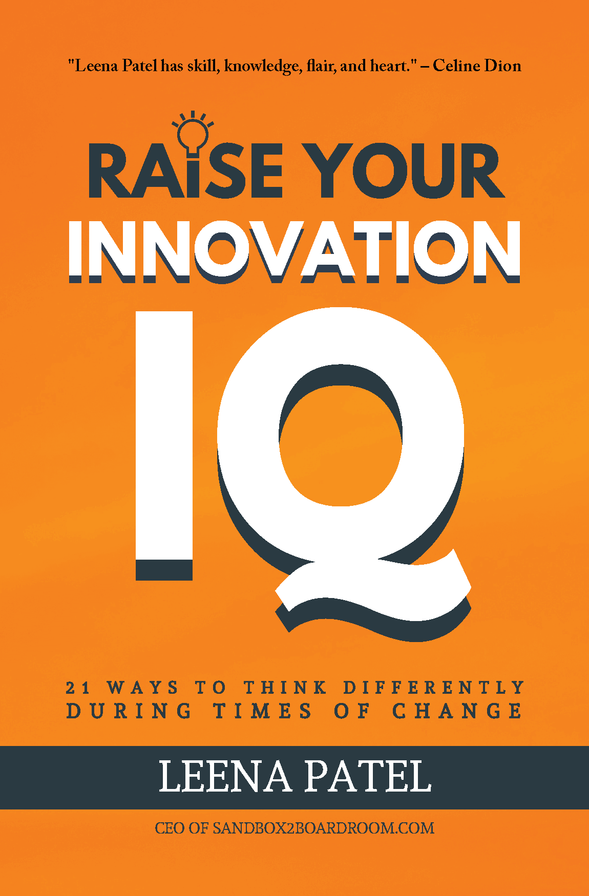 Raise Your Innovation IQ book